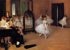 Танцевальный класс (Э. Дега, 1870-1872 гг.)