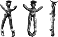 Бронзовые статуэтки из Олимпии. Олимпия. Археологический музей. IX в. до н.э.