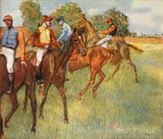 Скаковые лошади (Э. Дега, ок. 1873 г.)