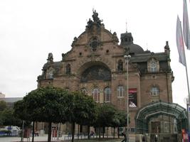 Здание городского театра в Нюрнберге (Югендстиль)