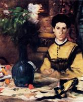 Мадам де Рютте (Э. Дега, ок. 1875 г.)