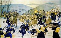 Бои между русскими и австрийскими отрядами в Карпатах (1914 год)