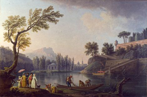 Озеро (Клод Жозеф Верне, 1785 г.)