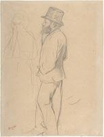 Мане на скачках (Э. Дега, 1870 г.)