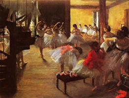 Танцевальный класс (Э. Дега, 1873 г.)