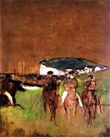 Утренняя поездка (Э. Дега, ок. 1866 г.)