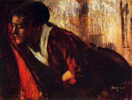 Меланхолия (Э. Дега, 1874 г.)