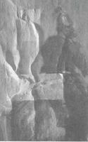 Фрагмент картины «Всадник на коне» французского живописца Б.-Э.Свебаха до реставрации