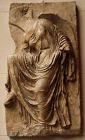 Рельеф балюстрады храма Ники Аптерос. Пентеллийский мрамор. 410-400 гг. до н.э. Афины, Музей Акрополя