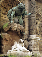 Фонтан Медичи, Париж (Огюст Оттен, 1866)
