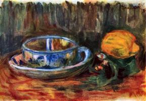 Пейзаж с чашкой (Пьер-Огюст Ренуар)