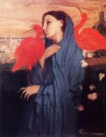 Женщина на террасе (Э. Дега, 1857 г.)