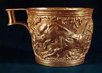 Золотой кубок из Вафио (XV-XII вв. до н.э.)
