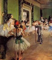 Танцевальный класс (Э. Дега, 1873-1878 гг.)