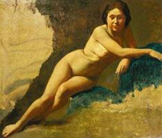 Этюд ню (Э. Дега, 1858-1860 гг.)
