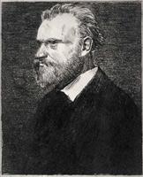 Портрет Эдуарда Мане (бюст в профиль, Э. Дега)