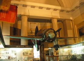 Истребитель И-16 дважды Героя Советского Союза подполковника Сафонова