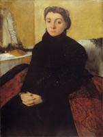 Портрет Жозефины Гойелин (Э. Дега, 1867 г.)