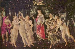 Весна. Ботичелли. 1478