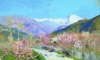 Весна в Италии (И.И. Левитан)