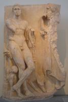 Скопас. Надгробие юноши. Мрамор. Около 340 до н.э. Национальный археологический музей. Афины