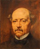 Портрет мужчины (Э. Дега, 1864 г.)