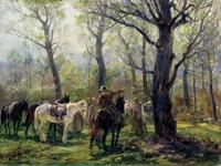 Партизаны в белорусских лесах (Авилов М.И. 1951 г.)
