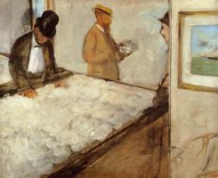 Торговцы хлопком в Новом Орлеане (Э. Дега, 1873 г.)