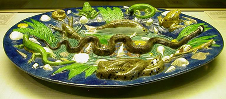 Керамическое блюдо (Б.Палисси)
