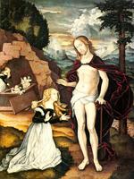 Христос-садовник (Ханс Бальдунг)