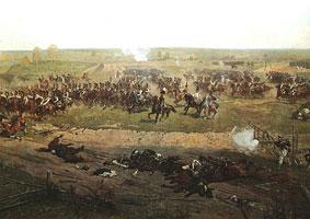 Бородинская битва (фрагмент)