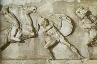 Скопас (Фрагмент фриза восточной стороны Галикарнасского мавзолея. IV в. до н.э.)