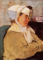 Женщина в повязке (Э. Дега, 1871-1873 гг.)