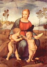 Мадонна со щегленком. Рафаэль. 1506