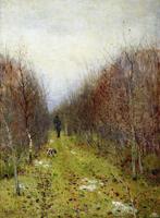 Осенний пейзаж (И.И. Левитан)