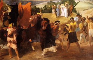 Дочь Иеффая (Э. Дега, 1859-1860 гг.)