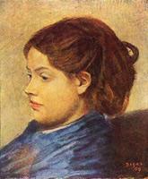 Портрет мадемуазель Эммы Добиньи (Э. Дега, 1869 г.)