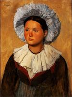Савойская девушка (Э. Дега, 1873 г.)