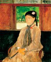 Портрет женщины (Э. Дега, 1867-1872 гг.)