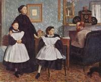 Портрет семьи Беллелли (Э. Дега, 1860-1862 г.)