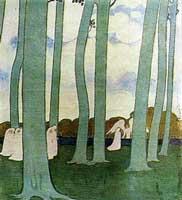 Пейзаж под зелеными деревьями (М. Дени)