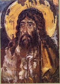 Св. Иоанн Предтеча (VI век. Синай, монастырь Св. Екатерины, энкаустика)