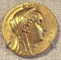Монета с изображением Арсинои II