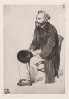 Эдуард Мане (Э. Дега, 1866-1868 гг.)