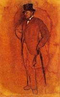 Ахилл Дега (Э. Дега, 1868-1872 гг.)