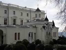 Часовня Ливадийского дворца