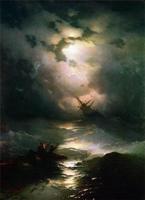 Буря на северном море. И. Айвазовский