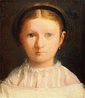 Портрет Джованны Беллели (Э. Дега, ок. 1856 г.)