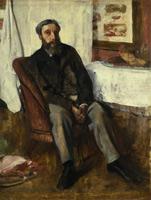 Портрет мужчины (Э. Дега, ок. 1866 г.)