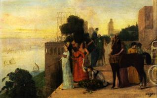 Семирамида строит Вавилон (Э. Дега, 1861 г.)